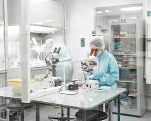 laboratory-area